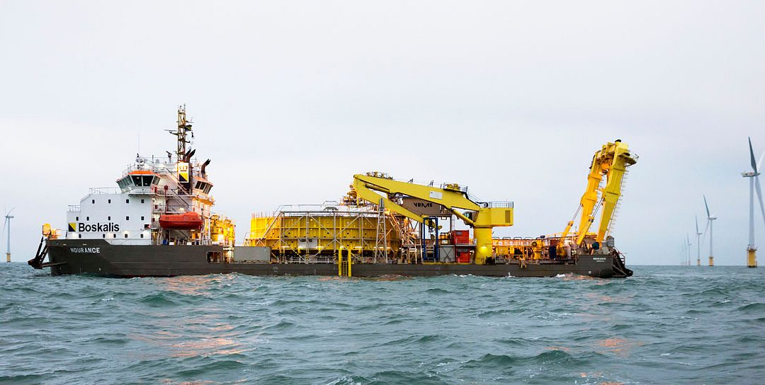 Inch Cape offshore wind farm selects Boskalis as preferred supplier to deliver marine works