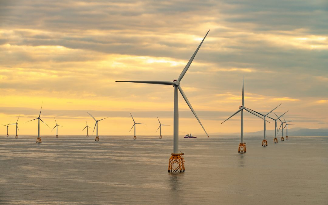 Offshore construction completed at Scotland's largest offshore wind farm