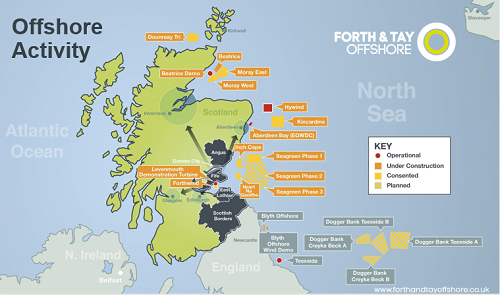 Offshore Wind Journey Starts Here for Forth and Tay Offshore Wind Cluster